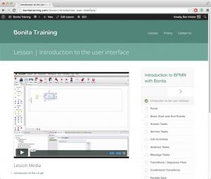BonitaTraining.com Screenshot